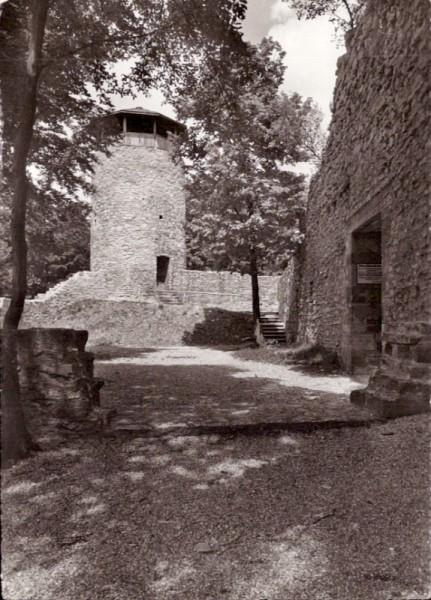 Muttenz - Hintere Ruine Wartenberg