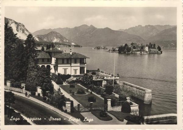 Lago Maggiore - Stresa - Lungo Lago Vorderseite