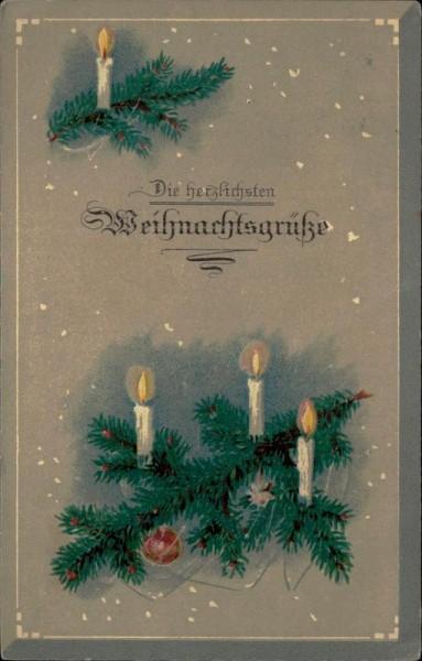 Die Herzlichsten Weihnachtsgrüsse Vorderseite