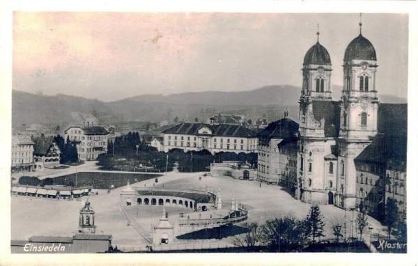 Einsiedeln, Kloster, 1934 - Tausend Jahre Maria Einsiedeln Vorderseite