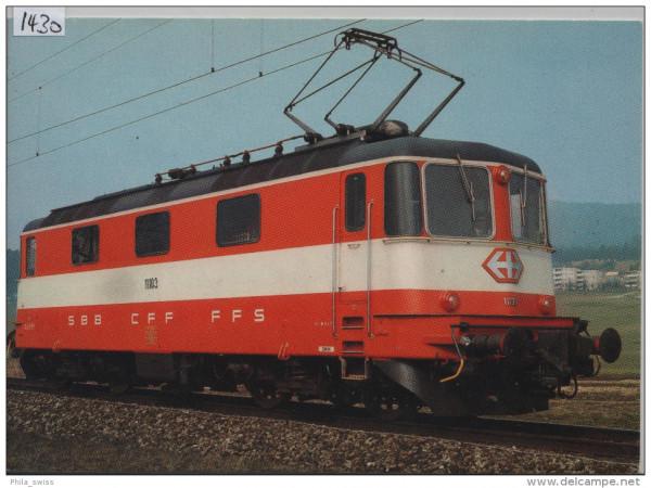 SBB - CFF - Lokomotive Re 4/4 II 11103 im Einsatz in Städteschnellzügen - Locomotive pour la tractio