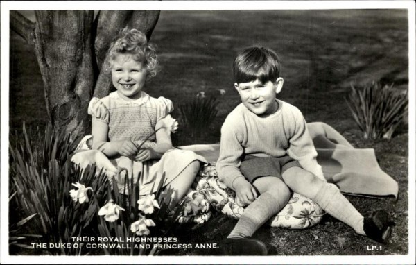 The Duke of Cornwall and Princess Anne Vorderseite