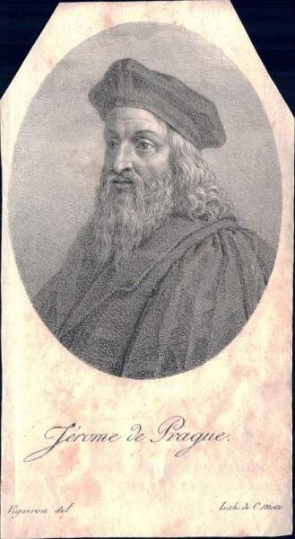 Jérome de Prague, Hieronymus von Prag Vorderseite