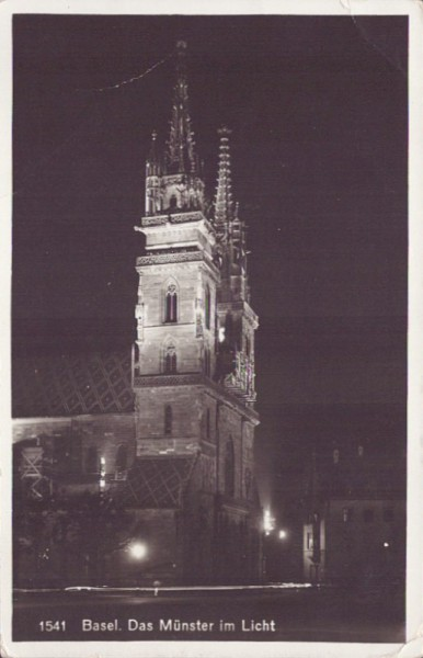 Das Münster im Licht, Basel