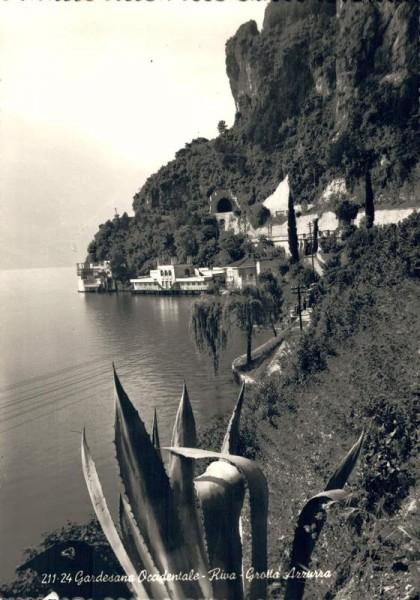 Gardesana Occidentale - Riva - Grotta Azzurra. Lago di Garda Vorderseite