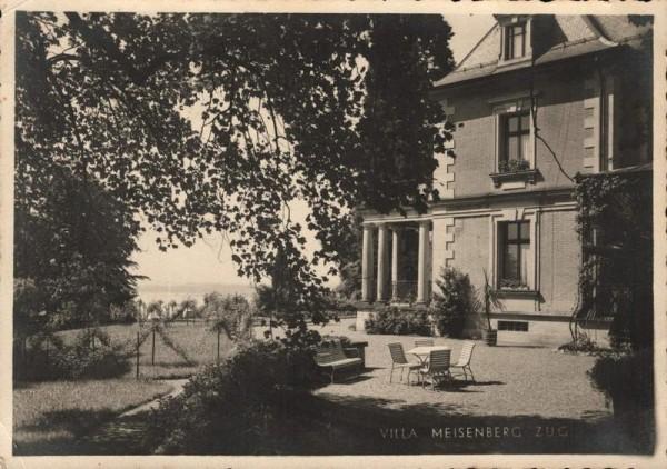 Villa Meisenberg, Zug. 1941 Vorderseite