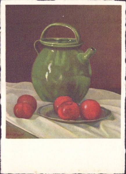 Äpfel vor Kante