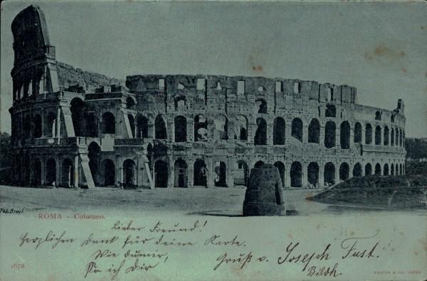 Kolosseum in Rom. 1902