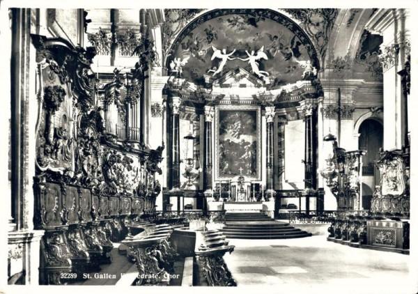 St. Gallen, Kathedrale, Chor Vorderseite