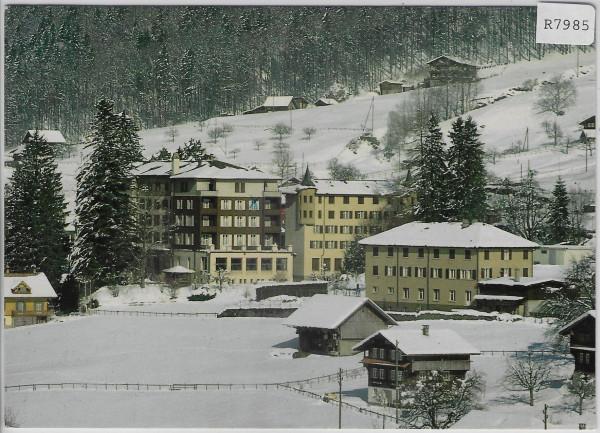 Haus St. Josef - Lungern - im Winter