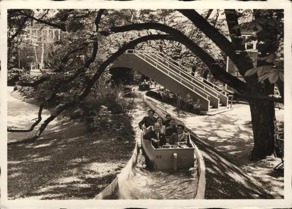 Schweizerische Landesausstellung Zürich 1939, Schifflibach im Park Vorderseite