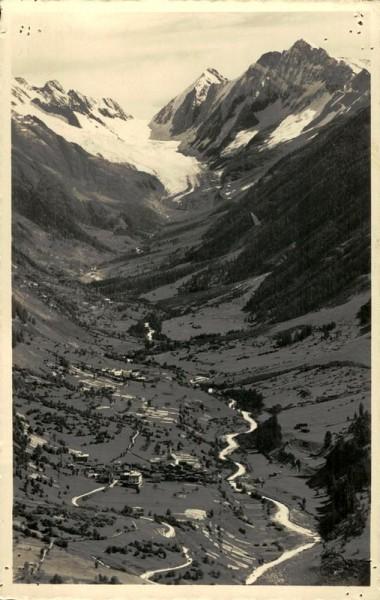 Langgletscher, Lötschental Vorderseite