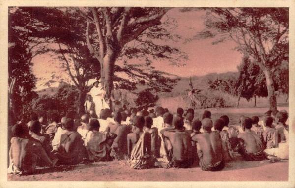 Mission der Schweizer-Kapuziner in Afrika, Die Predigt vom Gekreuzigten Vorderseite
