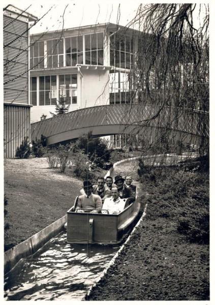 Schweizerische Landesausstellung 1939 Zürich. Enge. Schifflibach Vorderseite