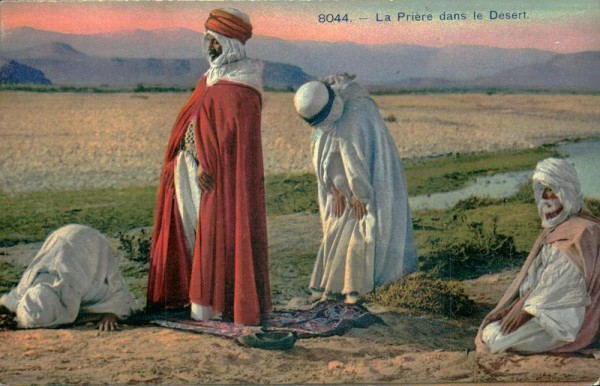 La Prière dans le Désert Vorderseite