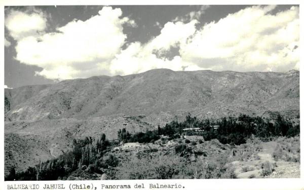 Balneario Jahuel, Panorama del Balneario Vorderseite