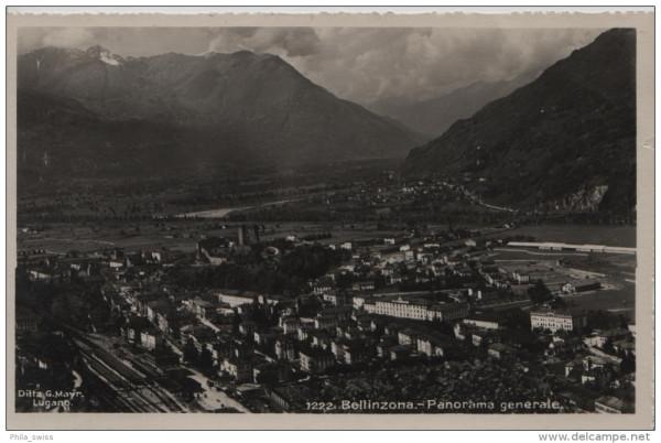 Bellinzona - Panorama generale - 1222