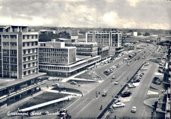 Goverment Road, Nairobi Vorderseite
