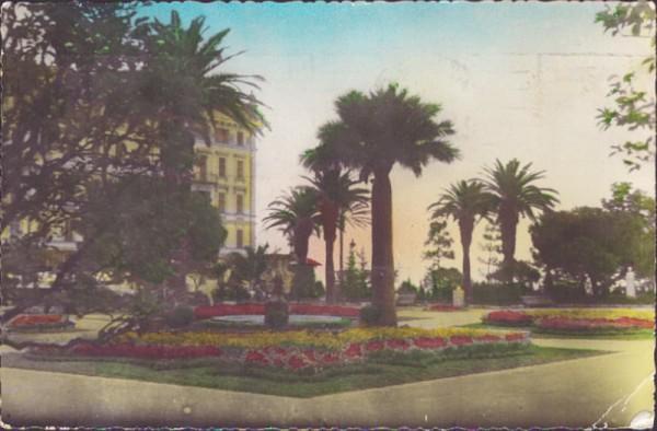 Un coin du Jardin Albert, Nice