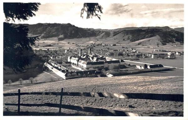 Einsiedeln, Das Kloster Vorderseite