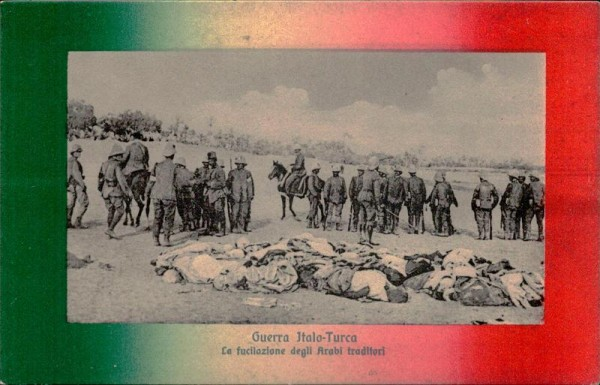Guerra Italo-Turca Vorderseite