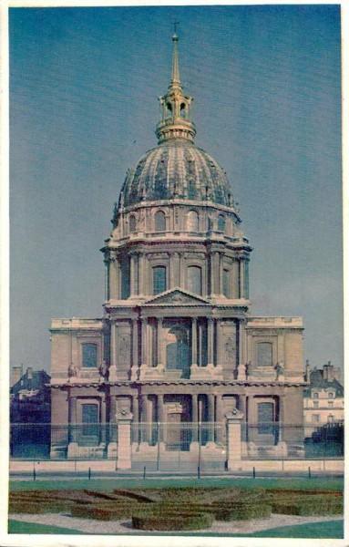 Hôtel des Invalides, Invalidendom Paris Vorderseite