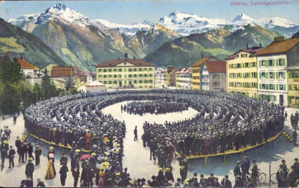 Landsgemeinde, Glarus. 1913