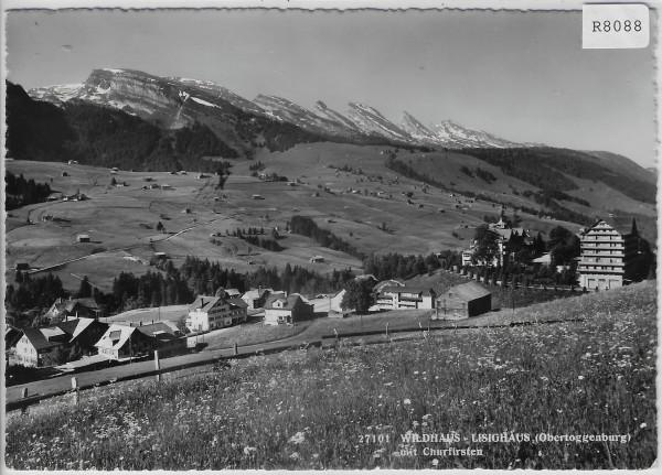 Wildhaus - Lisighaus mit Churfirsten