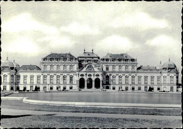 Schloss Belvedere (Wien) Vorderseite