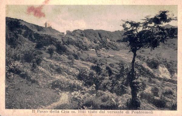 Il Passo della Ciasa m. 1041 visto dal versant di Pontremoli Vorderseite