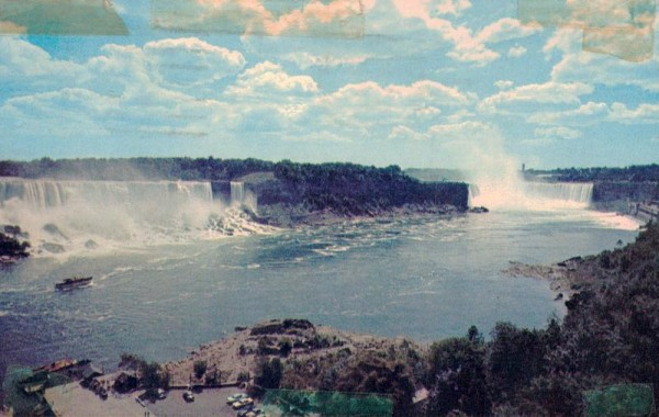 General View of Niagara Falls Vorderseite