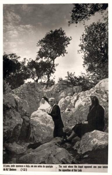 A Loca, onde aparecue o Anjo, um ano antes da aparição de Senhora Vorderseite