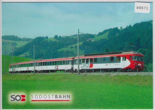 SOB Südostbahn - Pendelzug mit Trieb-Wagen BDe 576