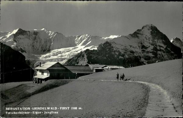Bergstation Grindelwald Vorderseite