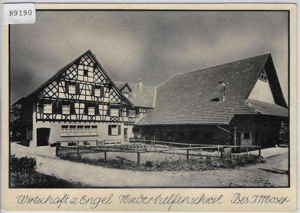 Wirtschaft z. Engel Niederhelfenschwil - Bes. J. Moser