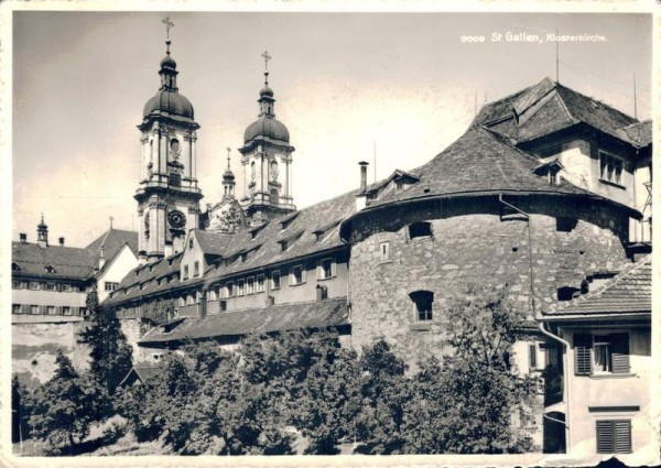 St. Gallen, Klosterkirche Vorderseite