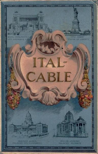 Ital-Cable, Italcable. Compagnia Italiana dei Cavi Telegrafici Sottomarini Vorderseite