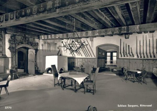 Schloss Sargans, Rittersaal Vorderseite