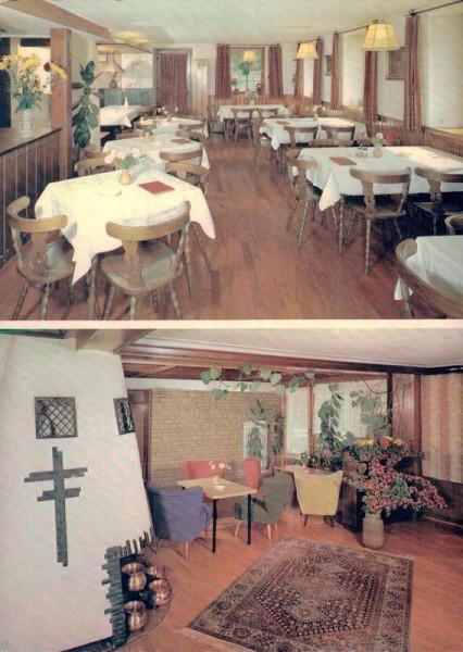 Café Gasthof Pension Pilgerhof, Löfflingen/Hochschwarzwald Vorderseite