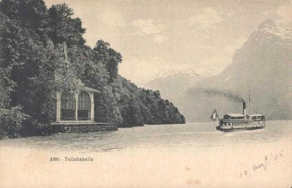 Tellskapelle. 1905 Vorderseite