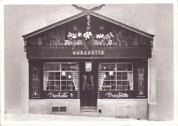 """Bierhalle """"Wurzhütte"""", Zürich"""