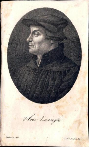 Ulric Zwingle, Huldych Zwingli Vorderseite