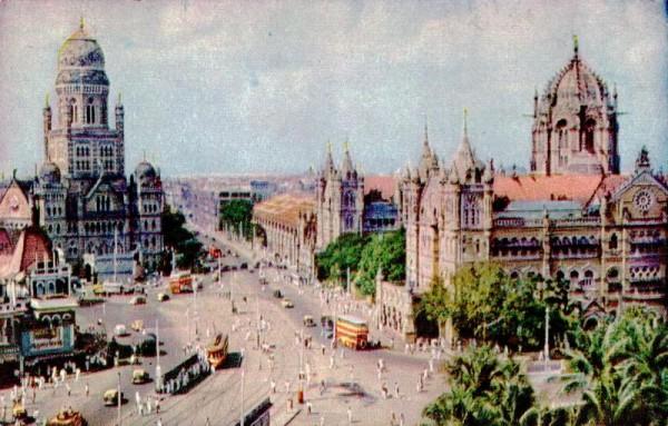 Mumbai um 1966 Vorderseite