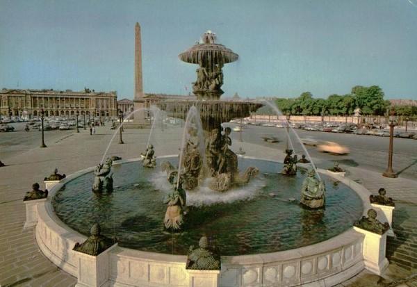 Paris, La Place de la Concorde Vorderseite