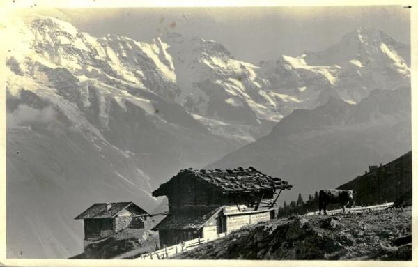 Grosshorn-Breithorn bei Mürren Vorderseite