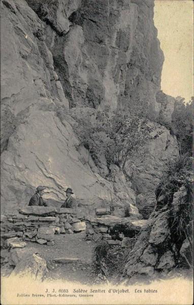 Salève Sentier d'Orjobet Vorderseite