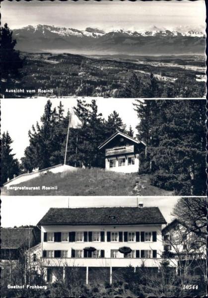Berghaus Rosinli, ob Wetzikon Vorderseite