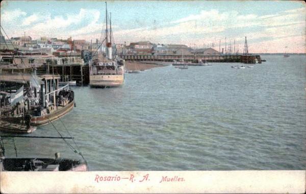 Rosario-Muelles Vorderseite