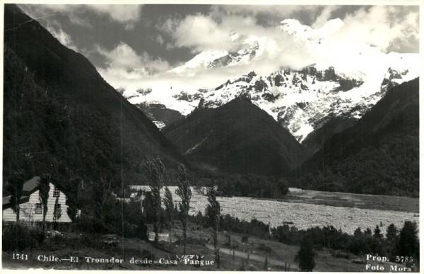 Chile, El Tronado Vorderseite