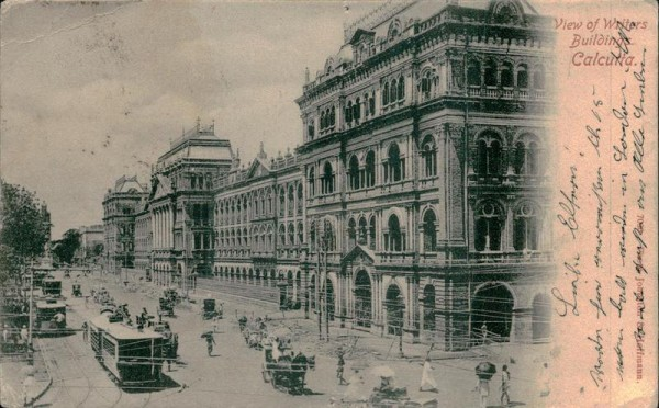 View of Winters Buildings, Calcutta Vorderseite